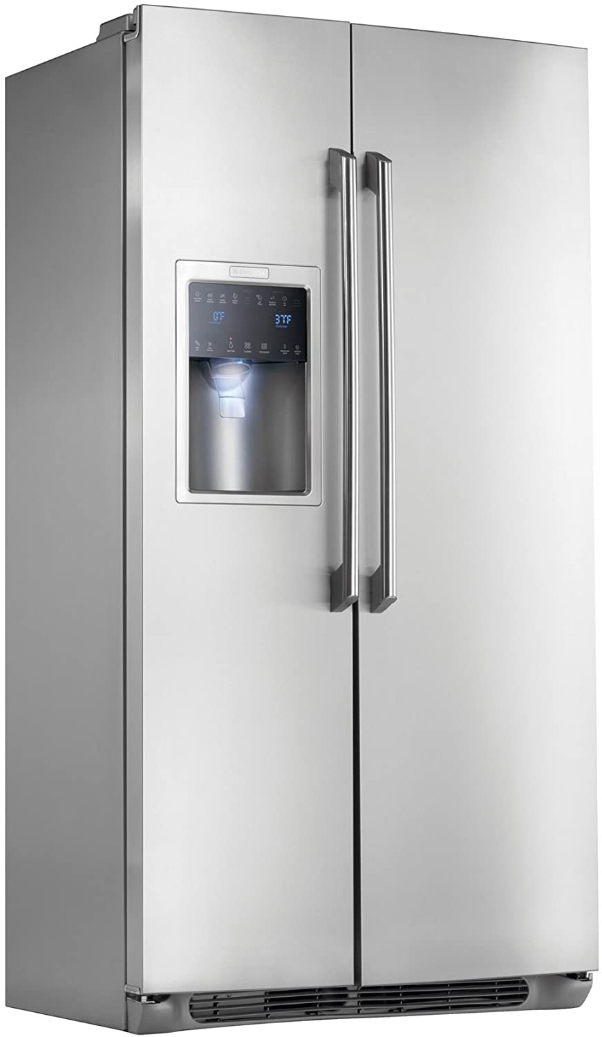 refrigerator electrolux. amazon.com: electrolux ei23cs35ks iq-touch 22.6 cu. ft. stainless steel counter depth side-by-side refrigerator - energy star: appliances