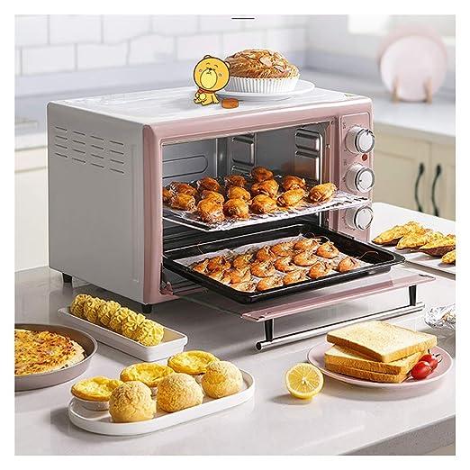 PANGU-ZC Mini horno-30L Parrilla de Cocina con múltiples Funciones ...