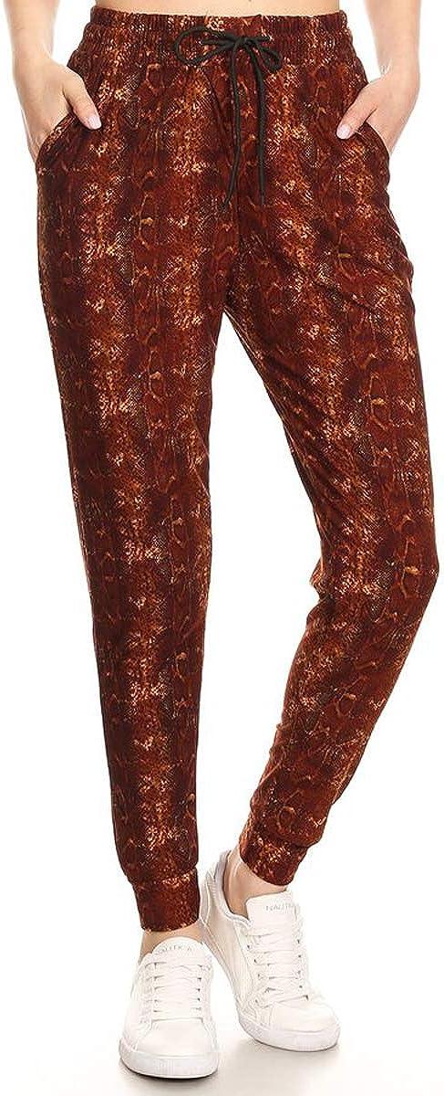 S-XL Leggings Depot Premium Womens Joggers Popular Print High Waist Track Pants BAT3