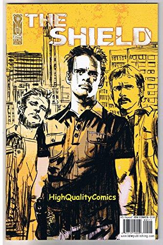 SHIELD #5, NM, TV show, Vic, LAPD, Cops, Police, Drama, Guns, more in - Cop Shield