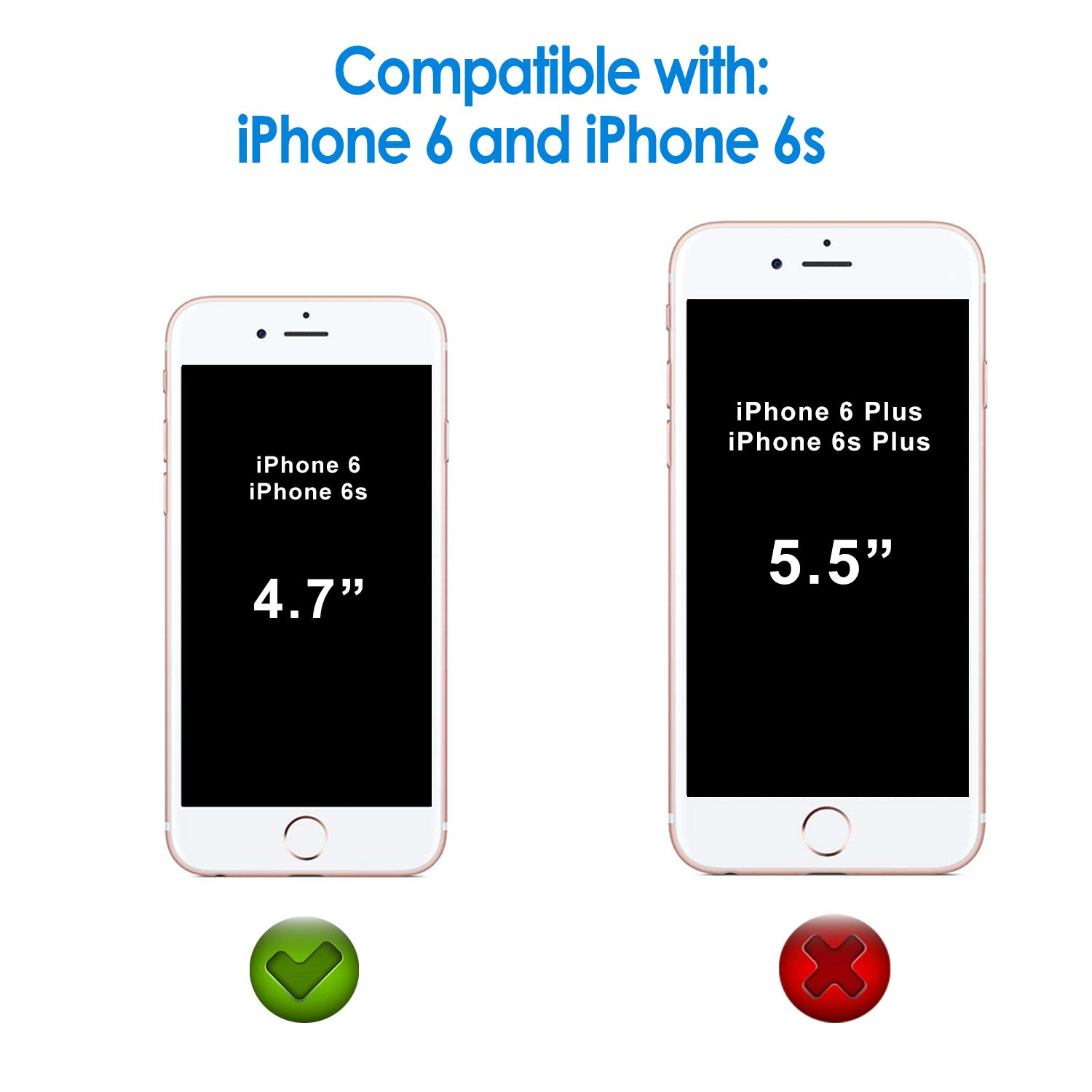 102ad5bff11 JETech Screen Protector for Apple iPhone - TiendaMIA.com