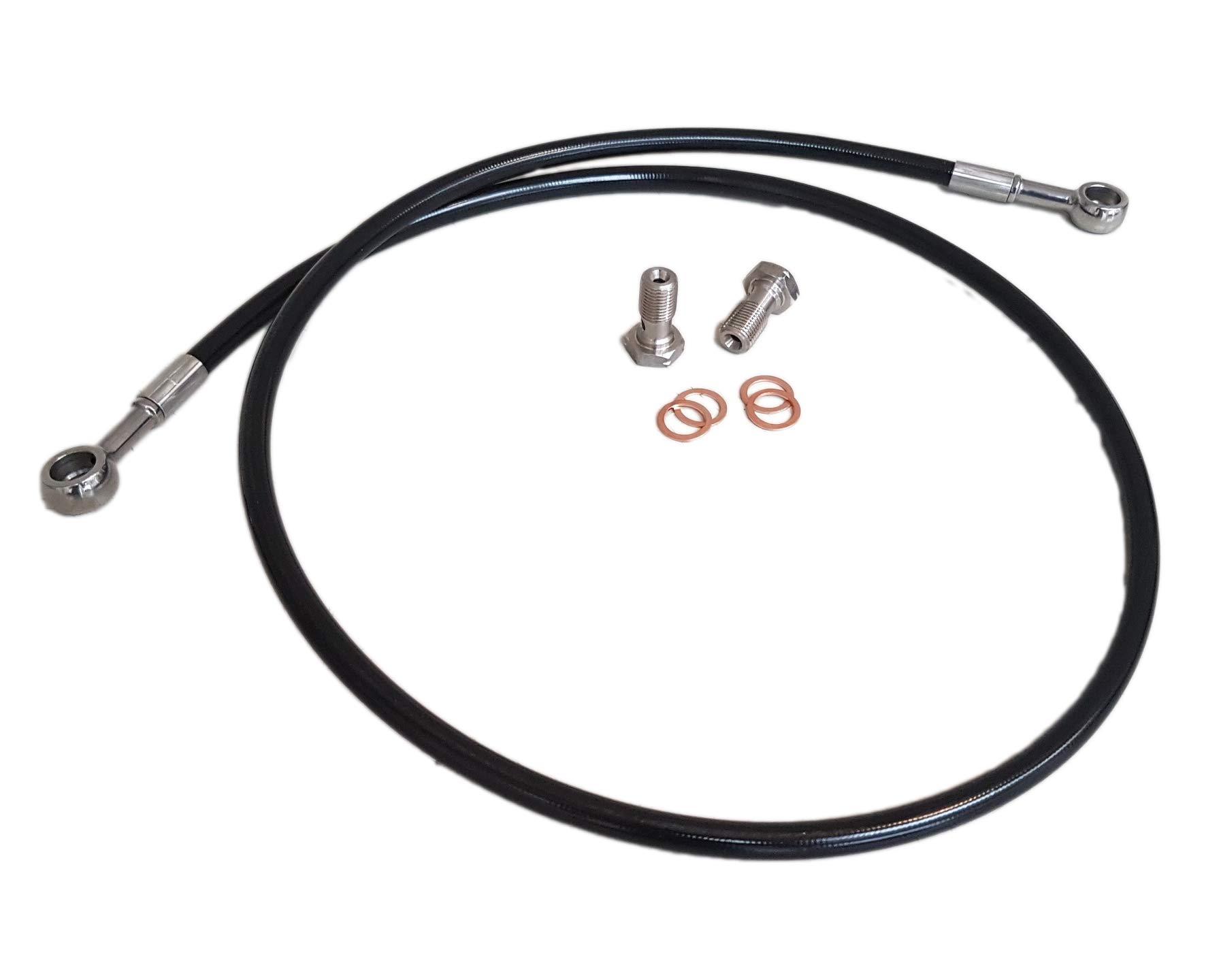 SupraSport full length clutch line for Toyota Supra MK4 JZA80 - left hand drive