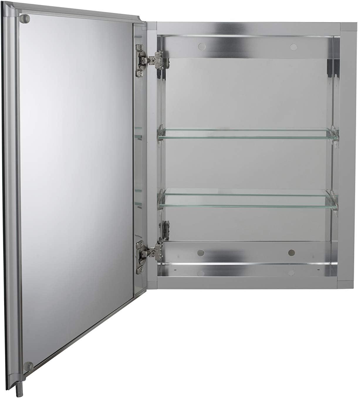 1 anta Croydex WC101369 Armadietto in alluminio 51 x 66 cm