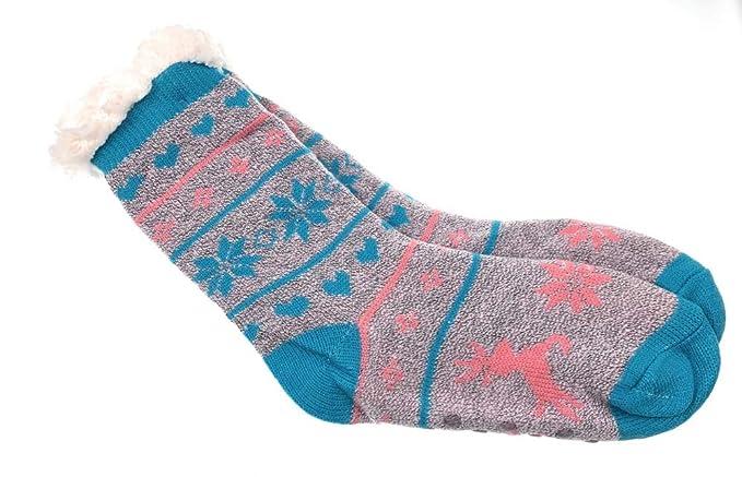 und Wintersocken,warm weich für Kinder Gr 30-35 Kuschel Socken Strümpfe Herbst