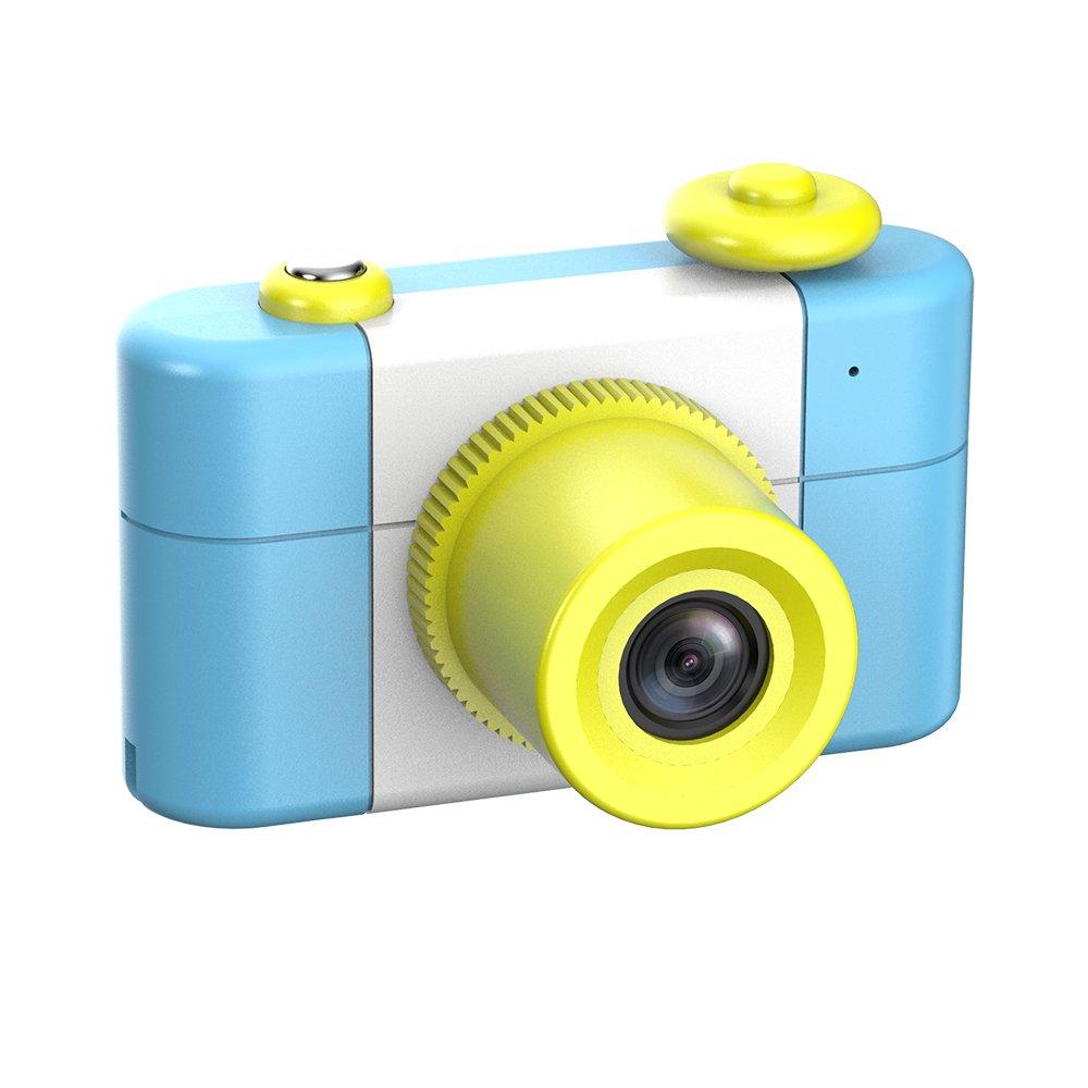 CamKing Kids Children's Camera, 1.5 Inch Screen Mini Digital Camera (Blue) by CamKing (Image #2)