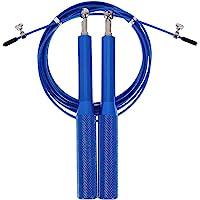 Corda de Pular Profissional, Colorida, Comprimento de 3m, Produzida em Alumínio, Material de Alta Qualidade e Durável…