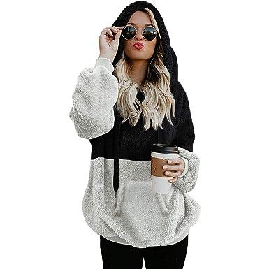 ALISIAM Camisas de Moda para Mujer Jersey de Cremallera ...