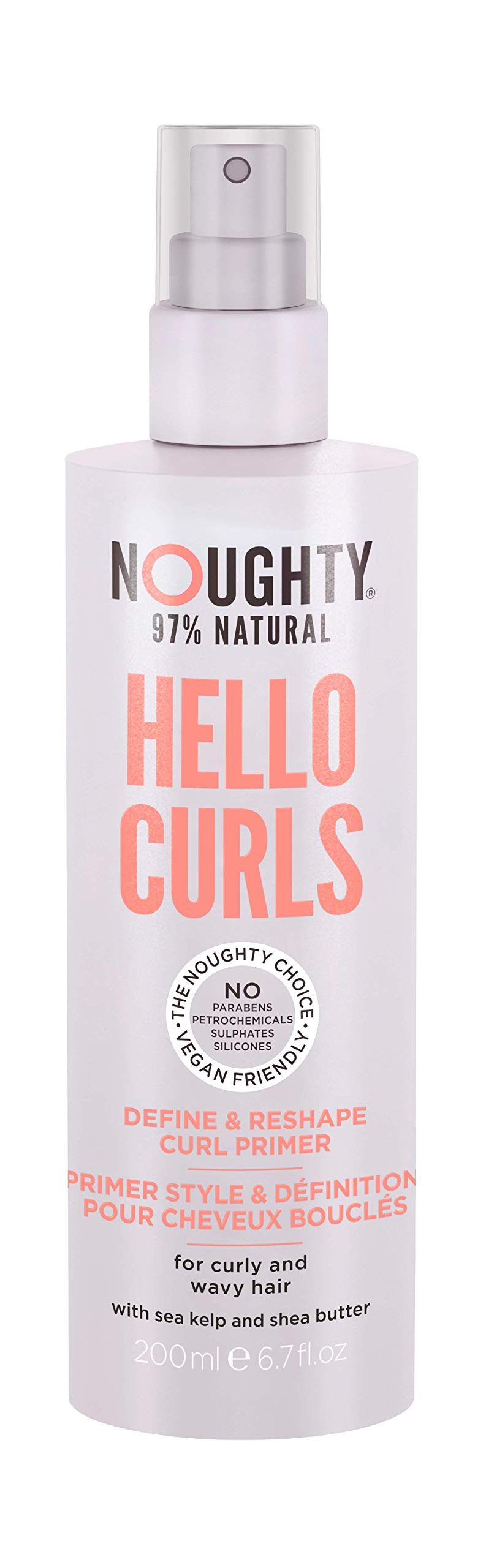 Noughty Haircare Hello Curls Define and Reshape Primer, NOUWV2329