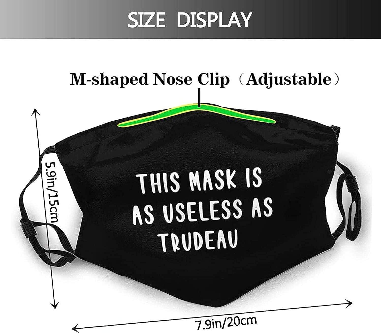 This Ma-sk is As Useless As Trudeau Fashion FA-ce Ma-sk Sports Balaclava Dustproof Breathable Ma-sk for Men Women