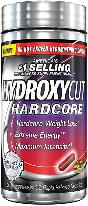 Weight Loss Pills for Women & Men   Hydroxycut Hardcore   Weight Loss Supplement Pills   Energy Pills to Lose Weight   Metabolism Booster for Weight Loss   Weightloss & Energy Supplements   60 Pills