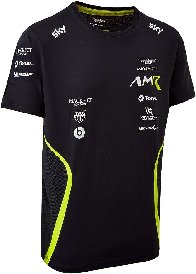 Amazon Com Aston Martin Racing 2020 Men S Team T Shirt Clothing