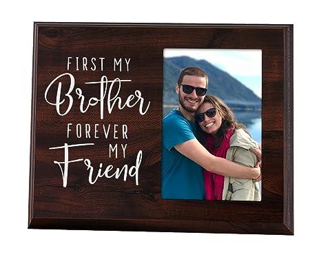 Amazon.com: First mi hermano Forever My Friend – Marco de ...