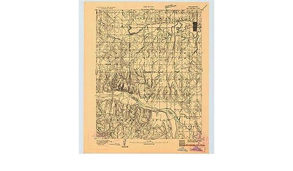 Amazon.com : YellowMaps Oklahoma City OK topo map, 1:62500 ...