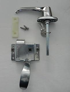 Rv Teardrop Trailer C&er L/h Locking Door L Handle Kit & Amazon.com: RV Teardrop Trailer Camper Front Locking Door L Handle ...