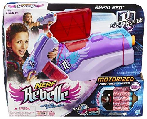 nerf rebelle a8920eu40 jeu de plein air agent secret pistolet auto jeux et jouets. Black Bedroom Furniture Sets. Home Design Ideas