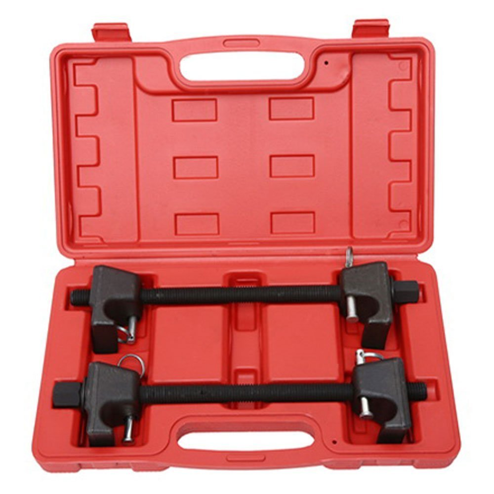 MILLION PARTS Heavy Duty Coil Spring Compressor Macpherson Strut Remover Installer Replace Repair Tool Auto Suspension Kit- Pair