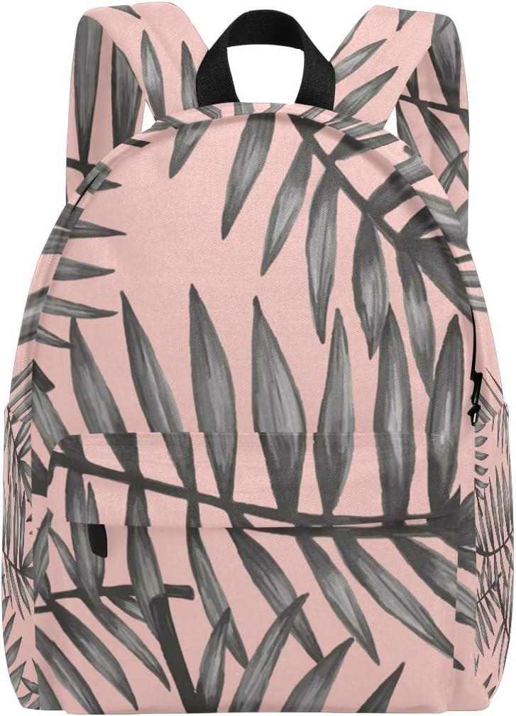 MONTOJ Palm Tree Pattern Travel Backpack for Men Women