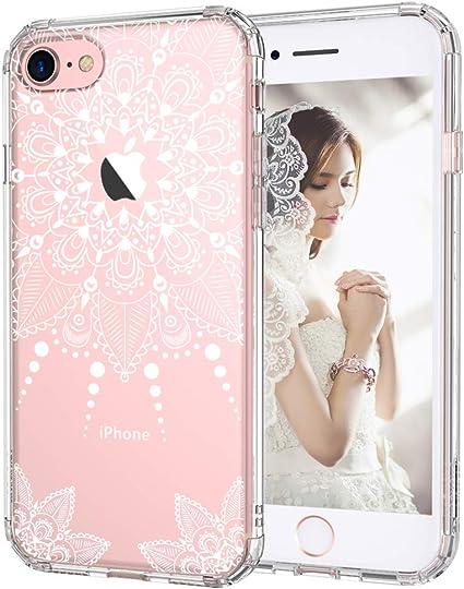 MOSNOVO [Liquid Crystal Funda iPhone 7 iPhone 8 con Protección TPU ...
