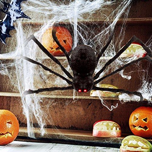 Spider Decorations For Halloween (HOTSAN Giant Halloween Spider 50