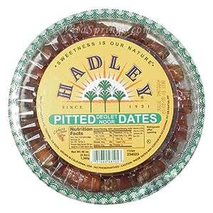 Hadley Pitted Dates (Deglet Noor), 3 lb (1360 g)