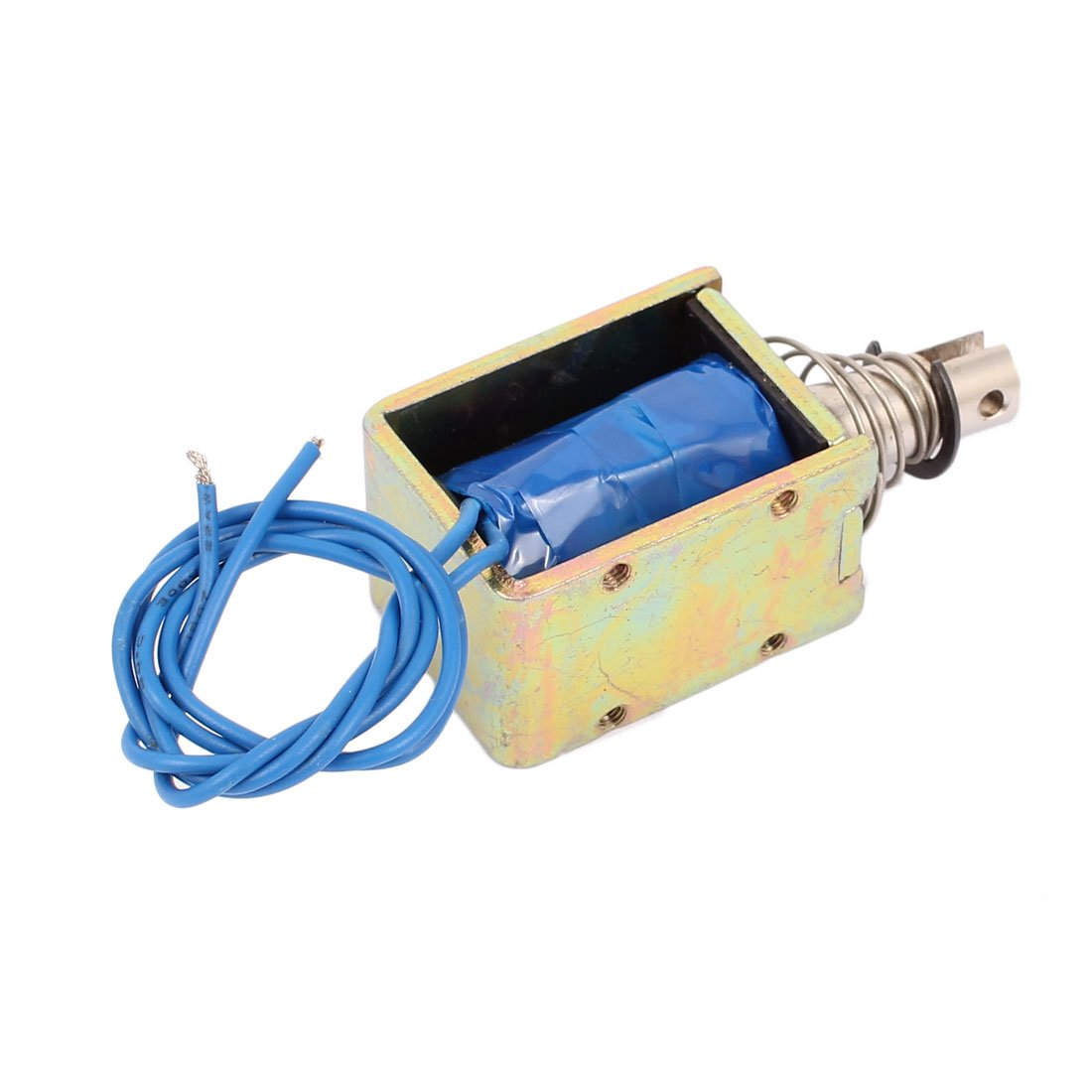 uxcell TAU-1040 DC 12V 1A 25N Push Pull Type Open Frame Solenoid Electromagnet Magnet
