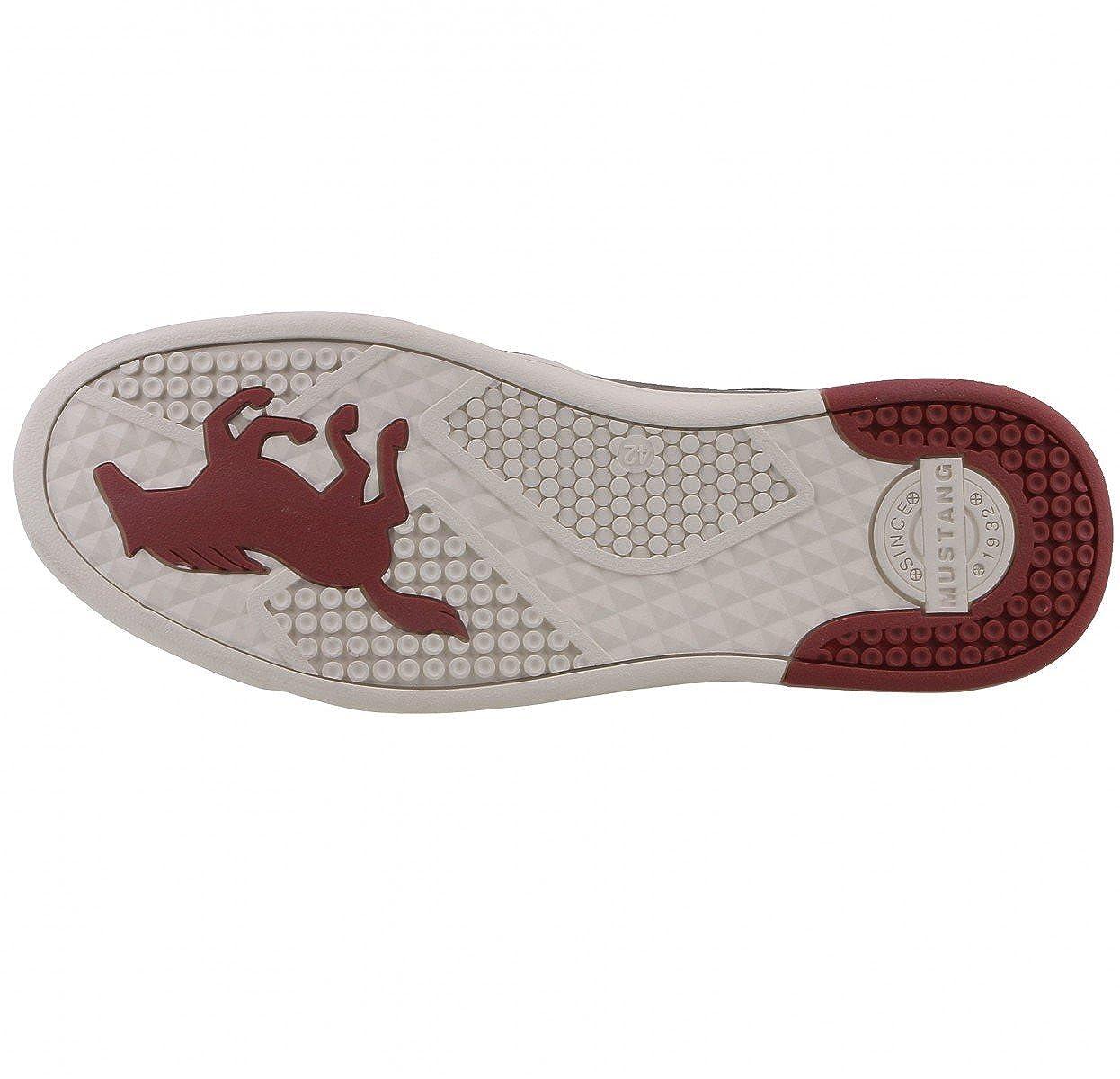 Herren Sneaker MUSTANG 4098-309-259 gris grafito 41 42 43 44 45 46, Herren Größen:44;Farben:grau