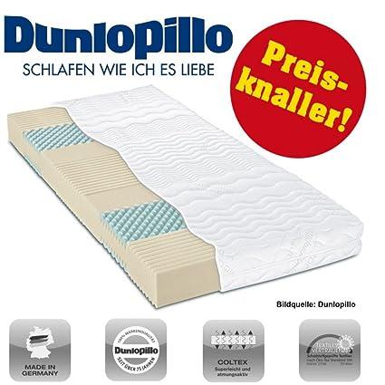 Dunlopillo Coltex Colchón de espuma fría 7 zonas 160 x 200 cm H3 Multi Care NP