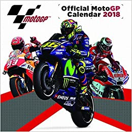 motogp 2018 calendar official square 30cm x 30cm wall new and sealed amazoncouk pyramid books
