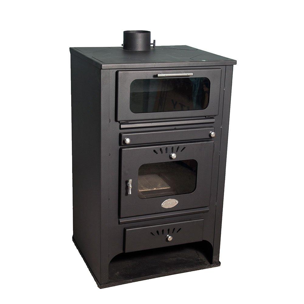 Caldera de leña Zvezda con horno modelo GF VR 16 con una salida de calor de 26 kW.: Amazon.es: Bricolaje y herramientas