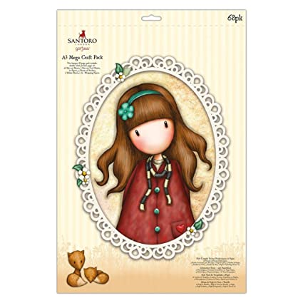 Amazon.com: Santoro Autumn Leaves Card Craft Collection A3 ...