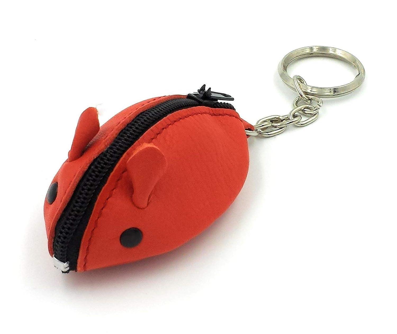 FJR-ArtPiel - Llavero, monedero ratón hecho en Piel Ubrique ...
