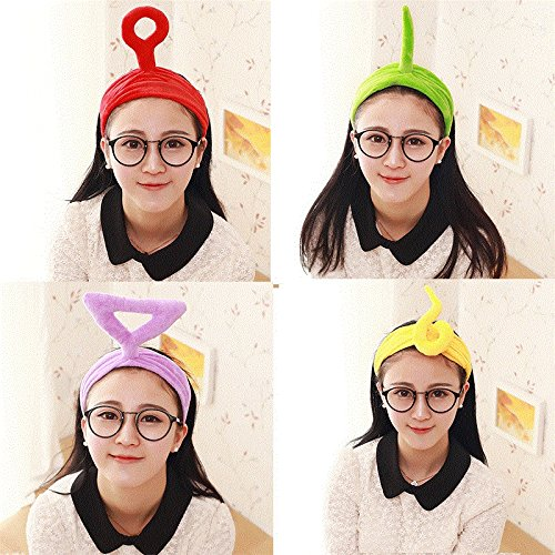 Factory direct explosion models Korean hair accessories headband Teletubbies children's cartoon creative headdress hair bands for women girl -