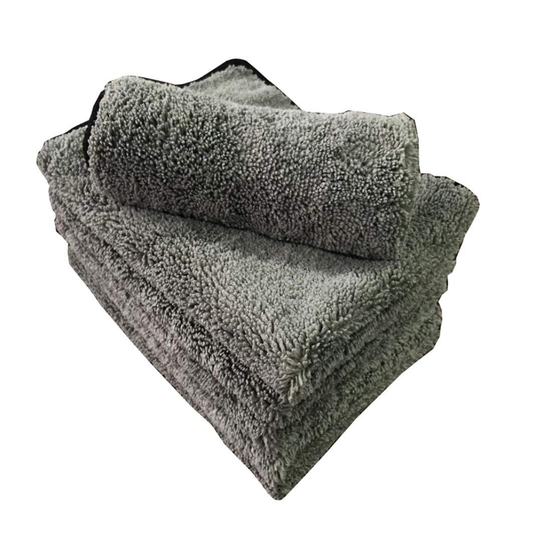 Grey Absorbent Towel Microfiber Car Auto Washing Cleaning Wash Cloth Accessory YESZ Microfiber Drying Towels for Cars