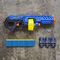 XShot Ninja Turbo Strike Foam Dart Blaster (48 Darts, 1 Dog-Tag, 3 Practice Cans) Limited Edition by ZURU
