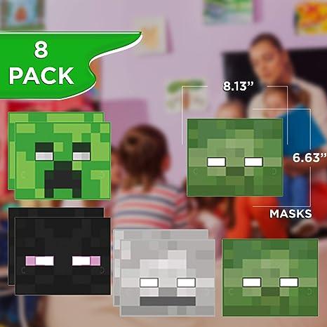 Amazon.com: Minecraft paquete de recuerdos y decoraciones ...