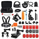 Toughsty Outdoor Sports Essentials Kit for All GoPro Hero 5 4 3 2 1