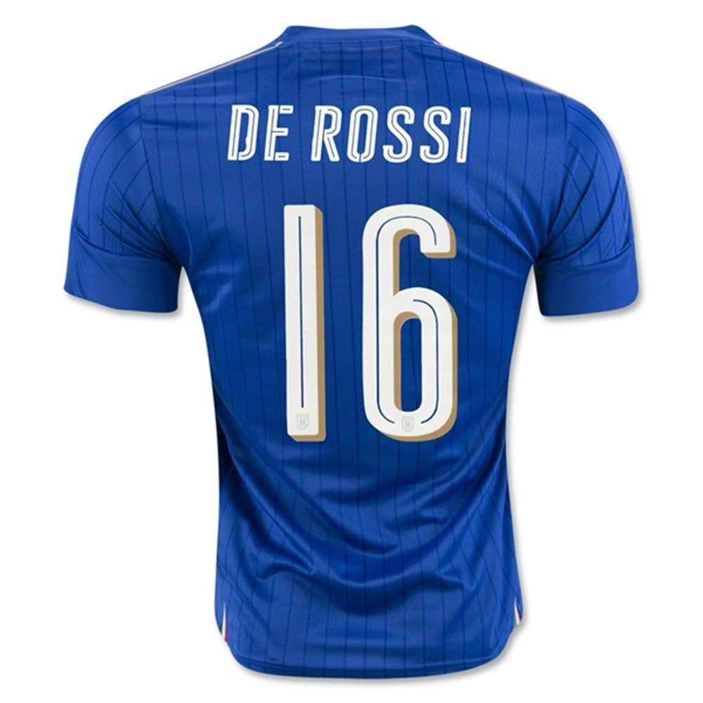 Generic 2016 2017 Italia 16 Rossi Daniele De Home-Maglia da calcio, colore: blu ALANUK