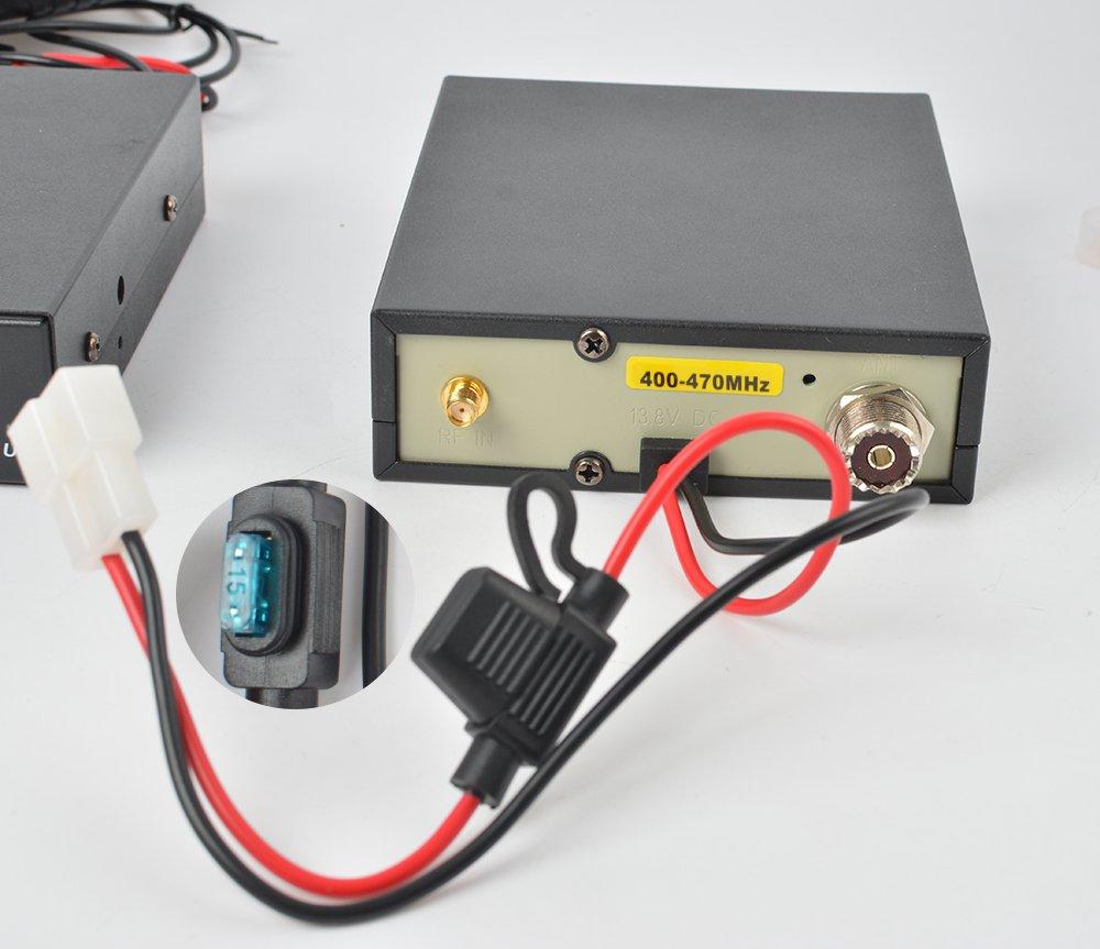 HYS 25W 400-470Mhz 70cm UHF HandHeld Radio High Power Amplifier for Motorola GP328 GP338 PRO5150 PRO7150 GP320 Walkie Talkie by HYS (Image #5)