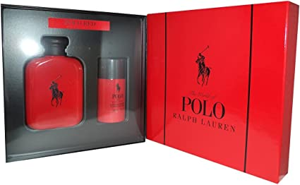 Ralph Lauren Polo Red - Agua de perfume, 2 piezas, 200 gr: Amazon ...