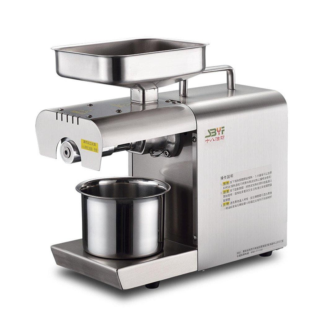 Household Oil Press Machine Small Oil Presser for Pressing Peanut Sesame Rapeseed Walnut Oil Cold Press Machine 220V