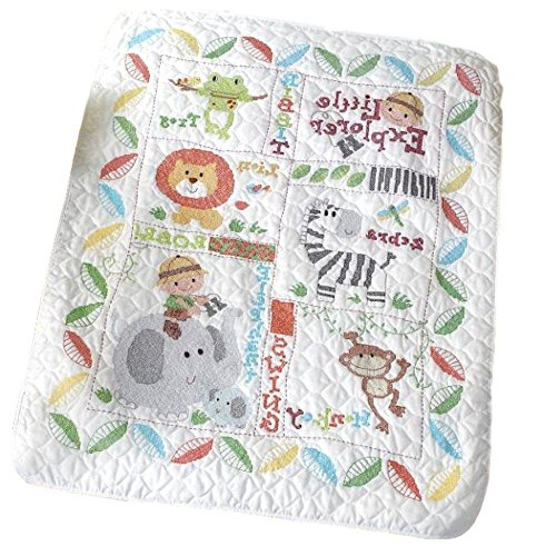 Baby Quilt Blocks.Stamped Cross Stitch Quilt Blocks Littl