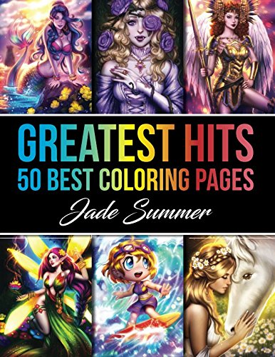Greatest Hits: An Adult Coloring Book with 50 Popular Coloring Pages for Relaxation
