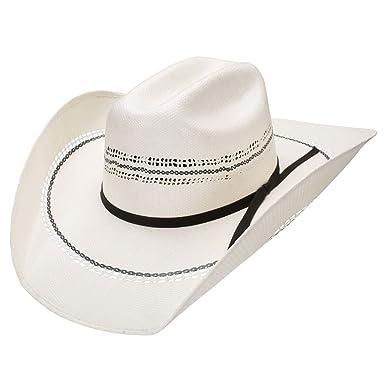 9893081849ea Resistol 7X Full Circle Vented Bangora Straw Cowboy Hat at Amazon ...