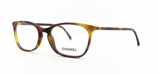 e1f127cefb Chanel - Montura de gafas - para mujer Multicolor Tortuga: Amazon.es: Ropa  y accesorios