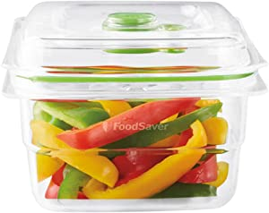 Foodsaver Fresh Food Vacuum Storage Container, 1.2 Litre, BPA-Free, Stackable,