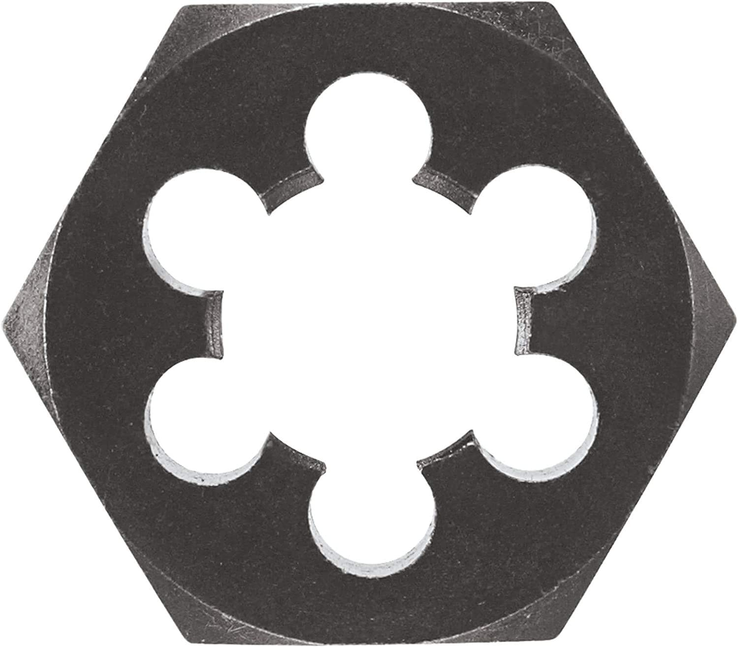 Utoolmart 15/×6.3mm Hex Pipe Rethreading Die Carbon Steel Industrial Pro Hexagonal Re-Threading Hex Metric Die for Taper Pipe Threads 1pcs