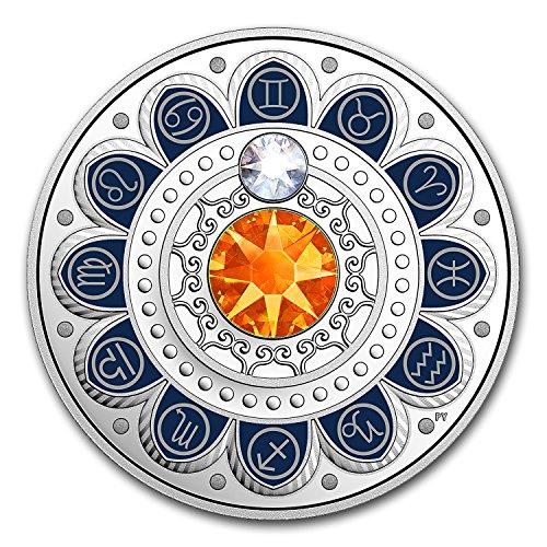 - 2017 CA Canada 1/4 oz Silver $3 Zodiac Series (Gemini) (1/4) Brilliant Uncirculated
