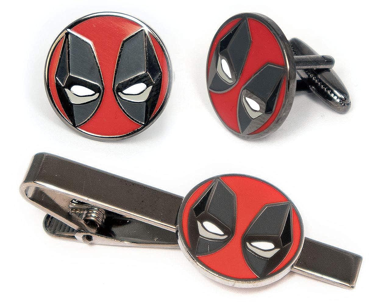 Marvel Minimalist Jewelry Wolverine Cuff Links Link Cable Tie Tack Groomsmen Wedding Party Gift The X-Men Cufflinks SharedImagination Deadpool Cufflinks The X-Men Tie Clip