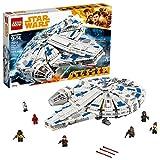 LEGO Star Wars Solo: A Star Wars Story Kessel Run Millennium Falcon 75212 Building Kit and Starship Model Set (1414 Piece)