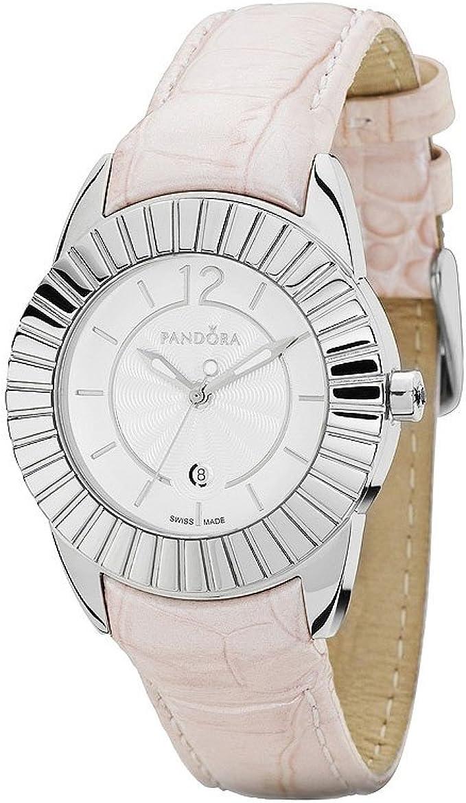 Pandora - 811010WH - Montre Femme - Quartz Analogique - Bracelet ...